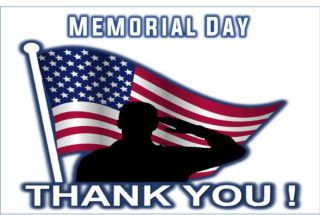 Happy Memorial Day  Church Offices CLOSED