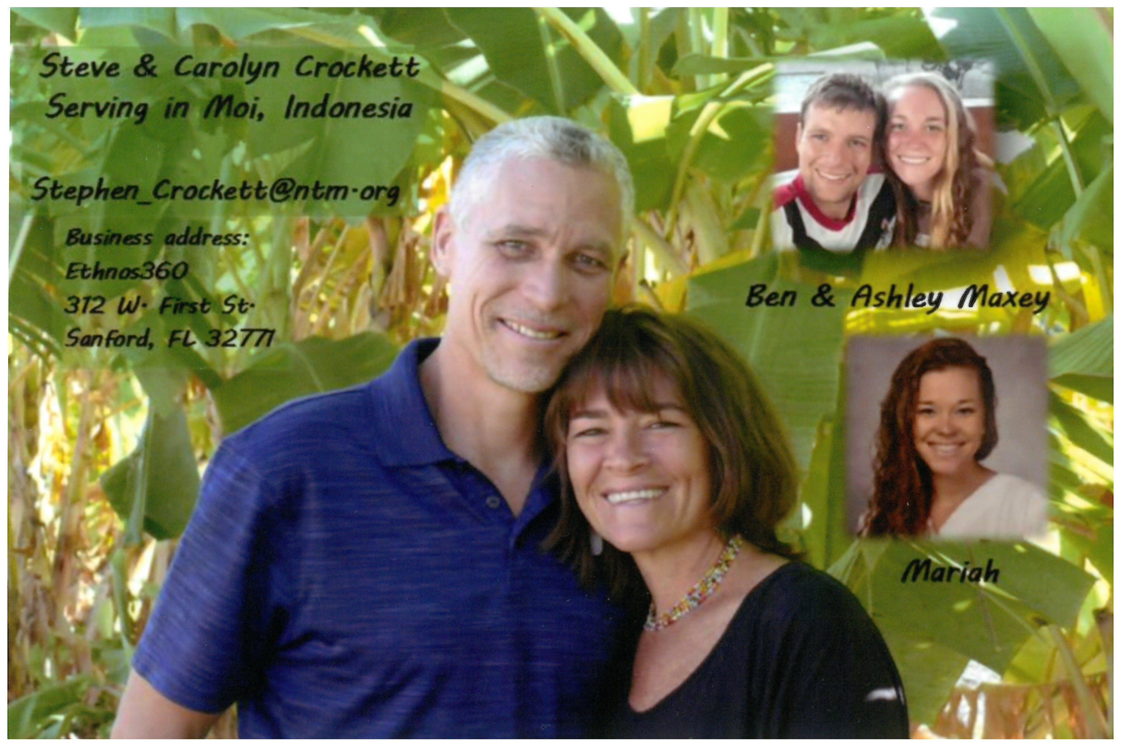 Stephen & Carolyn Crockett