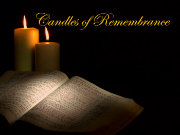 Candles of Remembrance 2020