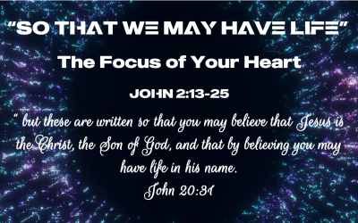 The Focus of Your Heart
