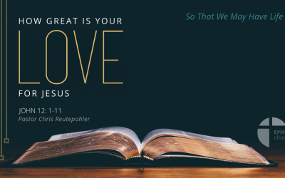 How Great is your Love for Jesus?